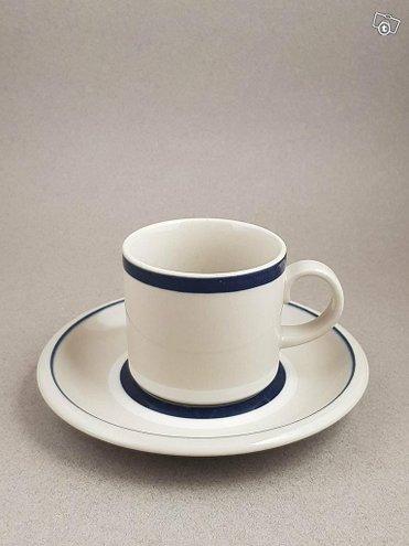 Arabia Ahti kahvikuppi 10 paria