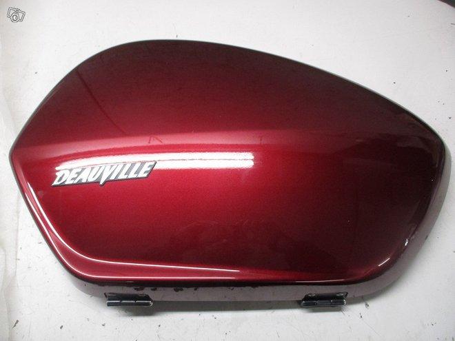 Honda NT 700 Deauville uusi sivulaukun kansi vasen