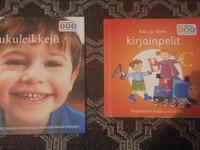 Lukuleikkejä -kirja ja kirjainpeli