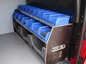 M-BOX pakettiauton hyllystö, Lisävarusteet ja autotarvikkeet, Auton varaosat ja tarvikkeet, Liperi, Tori.fi
