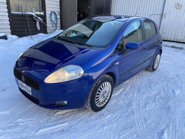 Fiat Punto 1.4 bensa katsatettu 11/2021 2