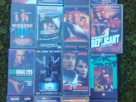 Toiminta elokuvat, VHS, Elokuvat, Loppi, Tori.fi