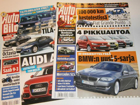 Autobild-, Tuulilasi- ja Moottori-lehtiä, Lehdet, Kirjat ja lehdet, Pori, Tori.fi
