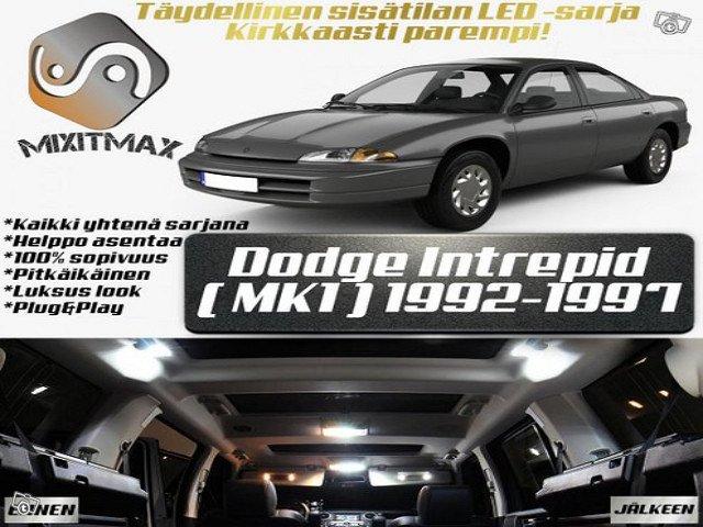 Dodge Intrepid (MK1) Sisätilan LED -sarja ;15 osaa