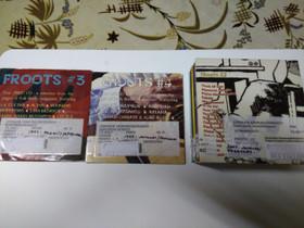 Folk Roots Magazinen CD-levyjä 3-22, Musiikki CD, DVD ja äänitteet, Musiikki ja soittimet, Joensuu, Tori.fi
