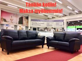 3+2 nahka UUSI 1995,-TÄNÄÄN ERISSÄ alk 27,43 kk, Sohvat ja nojatuolit, Sisustus ja huonekalut, Tuusula, Tori.fi