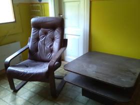 Retro tuoli ja pöytä, Muu sisustus, Sisustus ja huonekalut, Eura, Tori.fi