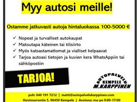 Maastoautot, lava-autot, pakettiautot, henkilöauto, Autot, Kempele, Tori.fi