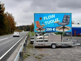 Siirrettävä led-näyttö, Liikkeille ja yrityksille, Siikalatva, Tori.fi