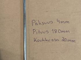 Uusia telttakiiloja, maa-ankkureita, narua, Ulkoilu ja retkeily, Urheilu ja ulkoilu, Säkylä, Tori.fi