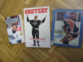 Wayne Gretzky kolme kirjaa, Imatra/posti, Harrastekirjat, Kirjat ja lehdet, Imatra, Tori.fi