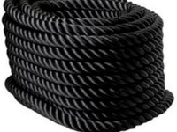 Sc 20m musta terassin kaideköysi