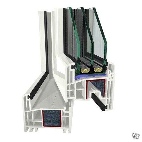 Uudet Saksalaislaatuiset PVC ikkunat. Alkaen 45