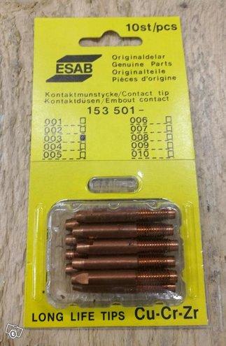 Kosketusuutin 153 501- 003 ESAB, 10kpl. paketti