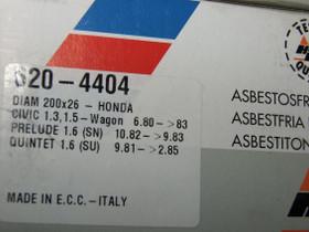 Honda civic/prelude/quintet 1980-85 uudet jarrut, Autovaraosat, Auton varaosat ja tarvikkeet, Kauhajoki, Tori.fi