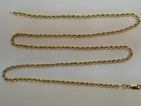 14 K kultainen cordell ketju 62 cm /7,8 g, Kellot ja korut, Asusteet ja kellot, Mikkeli, Tori.fi