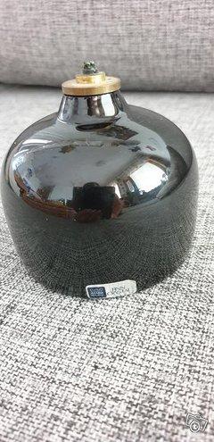 Arabia Finn Crystallis musta öljylamppu