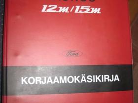 Ford Taunus 12M/15M P6 korjaamo- ja varaosakirjat, Autovaraosat, Auton varaosat ja tarvikkeet, Pori, Tori.fi