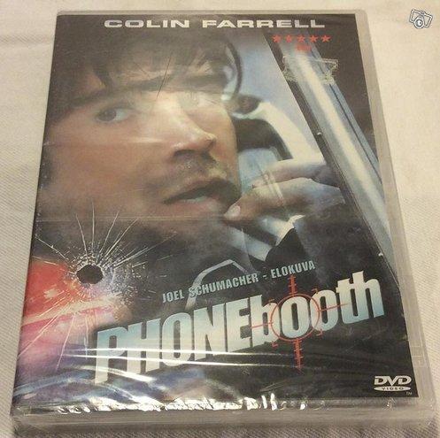 Phonebooth -dvd Uusi