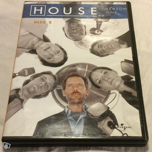 House season one -dvd