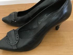 Mustat vintage avokkaat 60-luvulta, Vaatteet ja kengät, Kouvola, Tori.fi