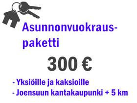 Vuokra-asunnon välityspaketti, Palvelut, Joensuu, Tori.fi
