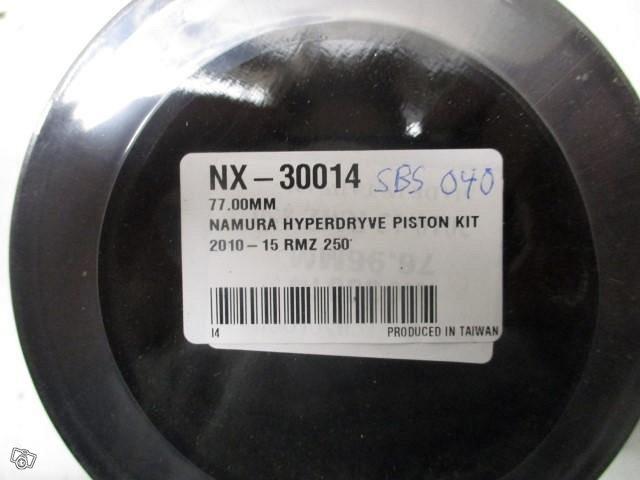Namura mäntäsarja RM-Z250 10-14 , 77.00 mm