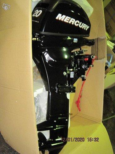 Mercury f 20 ml työkone uusi 3200