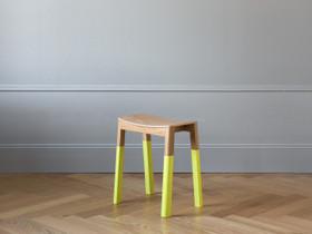 Halikko jakkara. Dipped Ultra Yellow, Pöydät ja tuolit, Sisustus ja huonekalut, Helsinki, Tori.fi