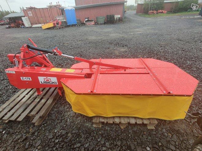 Lisicki 185cm niittokone - hydraulinen - VIDEO