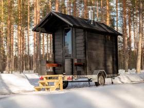 Lapelland MiniLuxus saunavaunu, Muu piha ja puutarha, Piha ja puutarha, Lempäälä, Tori.fi
