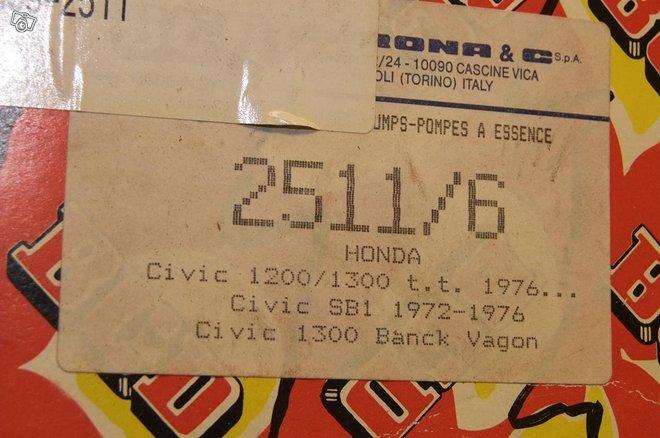 Honda civic 1972-76 vesipumppu