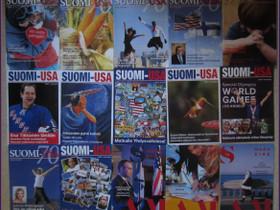 22 kpl SUOMI - USA seuran lehtiä vuosilta 2014-19, Lehdet, Kirjat ja lehdet, Kouvola, Tori.fi