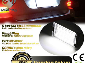 SEAT 6000K Rekisterivalot ; Luksusvalkoinen, Autovaraosat, Auton varaosat ja tarvikkeet, Tuusula, Tori.fi
