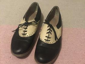 Musta-valkoiset kengät 40, Vaatteet ja kengät, Helsinki, Tori.fi