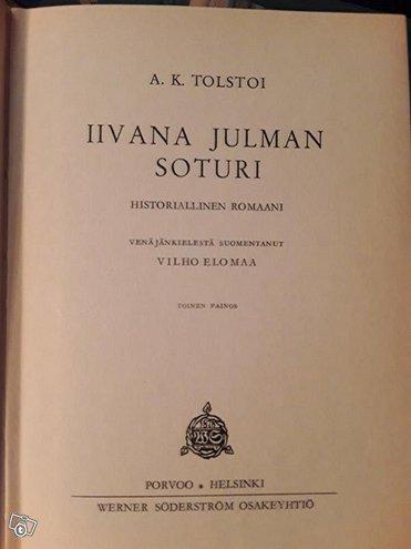 Iivana julman soturi /A.K.Tolstoi