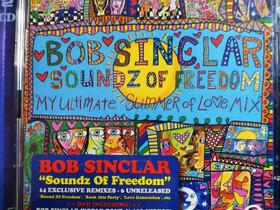 Bob Sinclar - Soundz Of Freedom CD & DVD-levyt, Musiikki CD, DVD ja äänitteet, Musiikki ja soittimet, Kangasala, Tori.fi