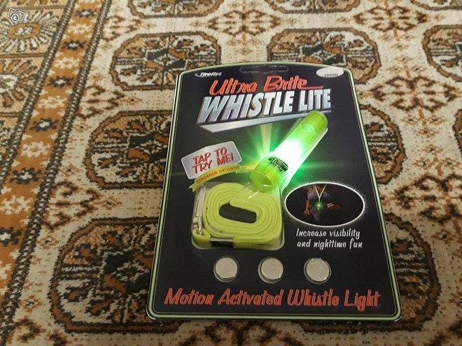 Ultra Brite Whistle Liikeaktivoituva Valopilli