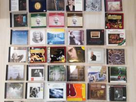 Klassista musiikkia 57 kpl CD-levyjä, Musiikki CD, DVD ja äänitteet, Musiikki ja soittimet, Lappeenranta, Tori.fi