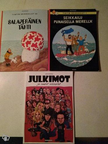 Erillaisia sarjakuva kirjoja 3