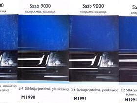 Korjaamon käsikirjat Saab 9000, 10 - 25 euroa kpl, Lisävarusteet ja autotarvikkeet, Auton varaosat ja tarvikkeet, Parkano, Tori.fi