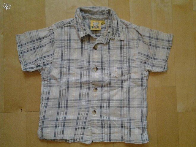 Lyhythihainen paitapusero koko 80cm