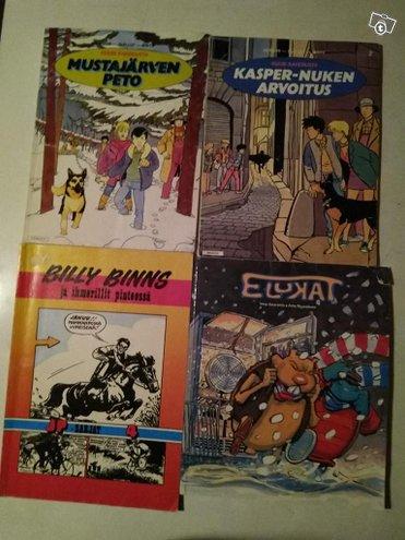 Erillaisia sarjakuva kirjoja 2