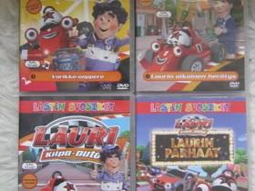 Lauri kilpa-auto neljä DVD:tä, Imatra/posti, Elokuvat, Imatra, Tori.fi