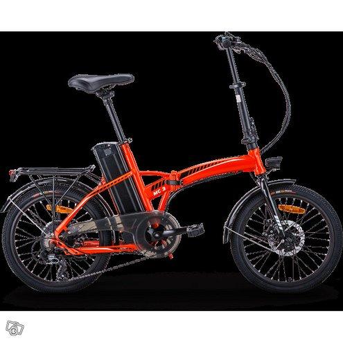 Taittuva sähköpolkupyörä rks e-bikes mc3