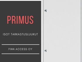 Isot TARKASTUS- JA HUOLTOLUUKUT, mallia PRIMUS, Muu rakentaminen ja remontointi, Rakennustarvikkeet ja työkalut, Vantaa, Tori.fi