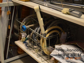 (E)7918 Pesukoneletkut, Kylpyhuoneet, WC:t ja saunat, Rakennustarvikkeet ja työkalut, Jämsä, Tori.fi