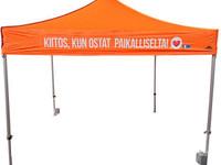 3x3m Nopsa Pikateltta, Popup teltta