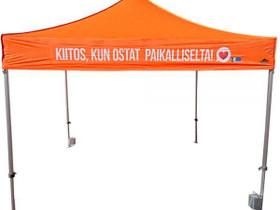 3x3m Nopsa Pikateltta, Popup teltta, Liikkeille ja yrityksille, Harjavalta, Tori.fi