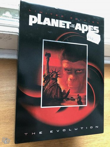 Planet of the apes limited edition (6 DVD)(alue 1)